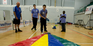 Children playing multi-sport