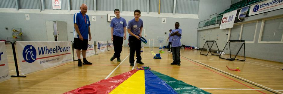 Children playing multi-sport