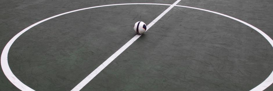 Indoor futsal pitch
