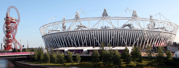 Queen Elizabeth Olympic Park Stratford